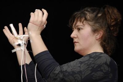Lilian Beidler bei der interface in Düsseldorf